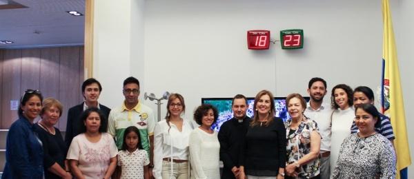 Colombianos en Milán siguieron con viva emoción la visita del Papa Francisco a Colombia